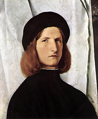 Lorenzo Lotto. Portrait of a Man