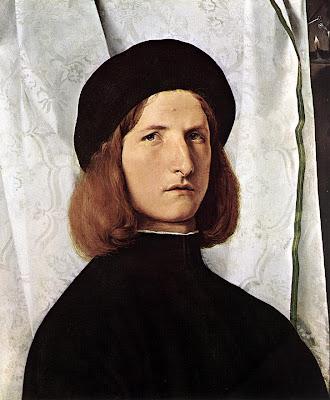 Lorenzo Lotto. Portrait of a Man