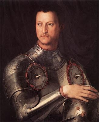 Agnolo Bronzino. Cosimo I de Medici in Armour
