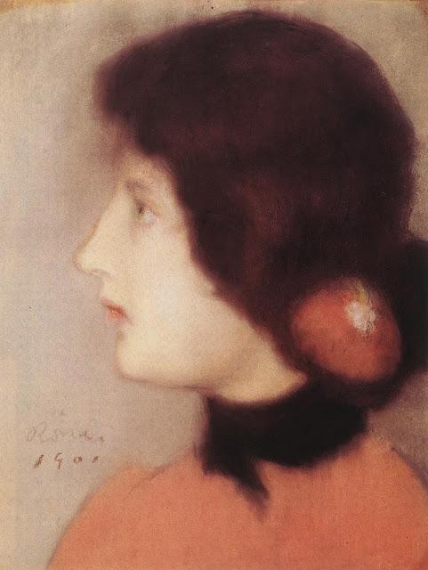 Cléo de Merode by József Rippl-Rónai, 1901