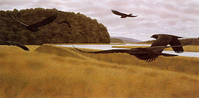 Painting by Alex Colville Canadian Artist