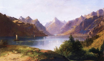 Landscape Painting by Karoly Telepy Hungarian Artist