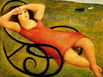 Hammock in  Painting Raul Soldi