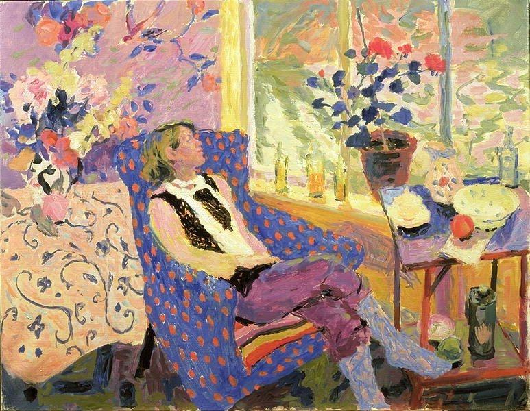 women in interior by hugo grenville british painter blog. Black Bedroom Furniture Sets. Home Design Ideas