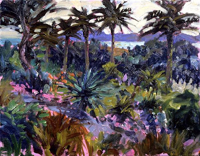 Landscape Painting by Hugo Grenville British ArtistLandscape Painting by Hugo Grenville British Artist