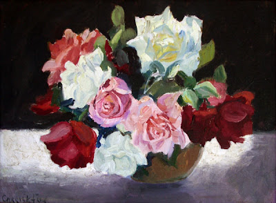 Flower Painting by Australian Artist Ethel Carrick Fox