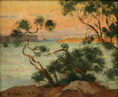 Seascape Painting by Australian Artist Ethel Carrick Fox