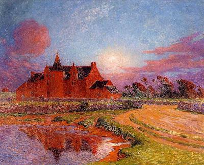 Landscape Painting by French Impressionist Artist Ferdinand du Puigaudeau