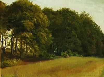 Scandinavian Summer Landscpe Painting Wilhelm Zillen