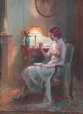 Blowing Bubbles in Painting Delphin Enjolras French Artist
