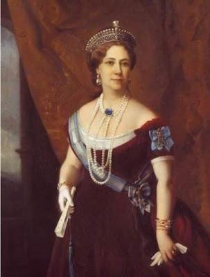 Fan in Painting. Princess Tatiana Alexandrovna Yussupova