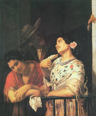Fan in Painting