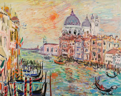 Venice Landscape Paintings by French Artist Maurice Empi
