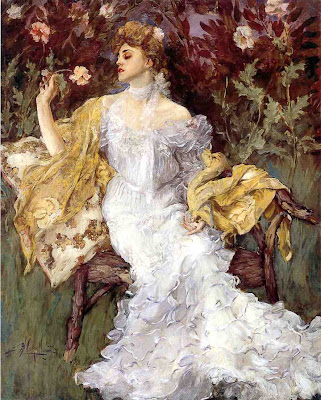 A Gift from the Garden by Albert B. Wenzell, 1904