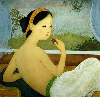 Women in Painting by Mai Trung Thu Vietnamese Artist