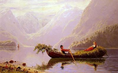 Landscape Painting by Norwegian Artist Hans Dahl