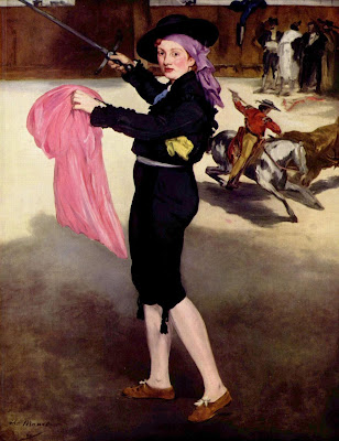 Mlle Victorine in the Costume of a Matador, 1862, oil painting by Edouard Manet