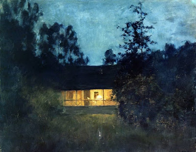 Oil Painting by Russian Artist Isaak Levitan