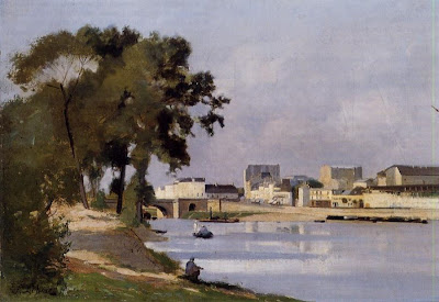 Landscape Painting by French Artist Stanislas Lépine