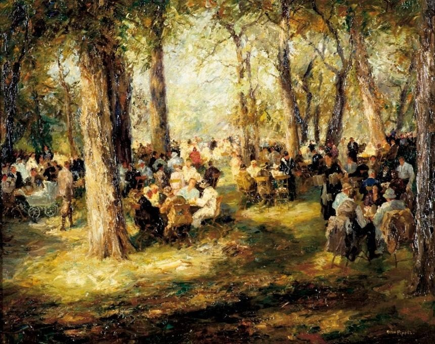 German Impressionist Otto Pippel 18 1960 Blog Of An