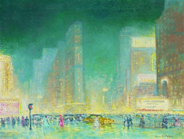 Cityscape Painting by Impressionist Painter Johann Berthelsen
