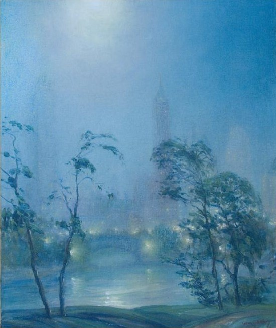 Oil Painting by Impressionist Painter Johann Berthelsen
