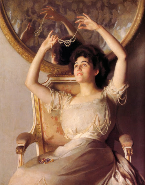 Artwork of Impressionist Painter William McGregor Paxton
