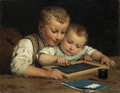 Art of Swiss Artist Albert Anker