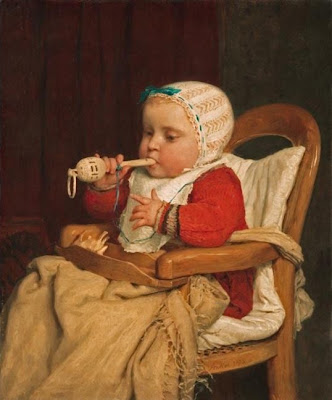 Artwork of Swiss Artist Albert Anker