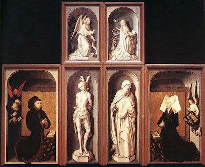 Last Judgment by Belgian Renaissance Painter Rogier van der Weyden