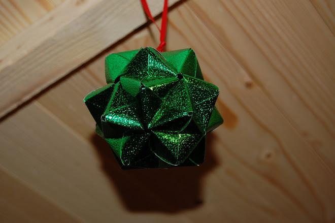 Glob origami - 9 lei