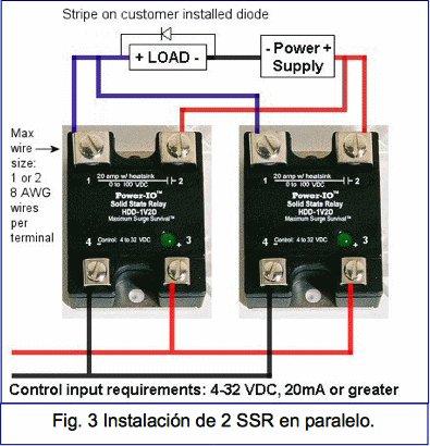 v u00eda d u00b4oggi automatismos viviendas contactores de estado Solid State Relay Circuit Diagram Solid State Relay Circuit Diagram