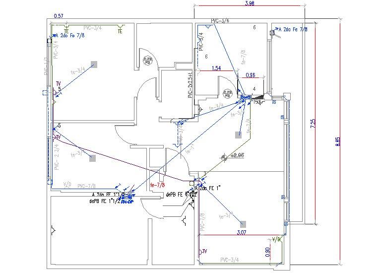 V a d oggi automatismos viviendas enero 2011 for Planos electricos pdf