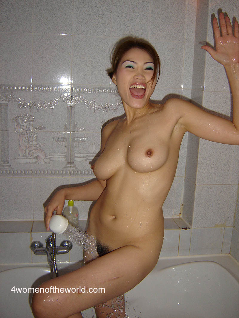 Nude women shower china