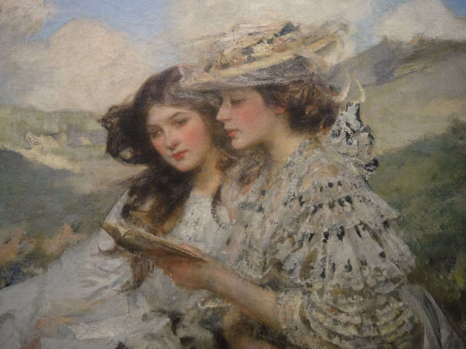 Lezen in de kunst florence en kitty - Associatie van kleur e geen schilderij ...