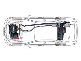 2010 Honda Civic Body Structure And Hybrid Battery Disconnect