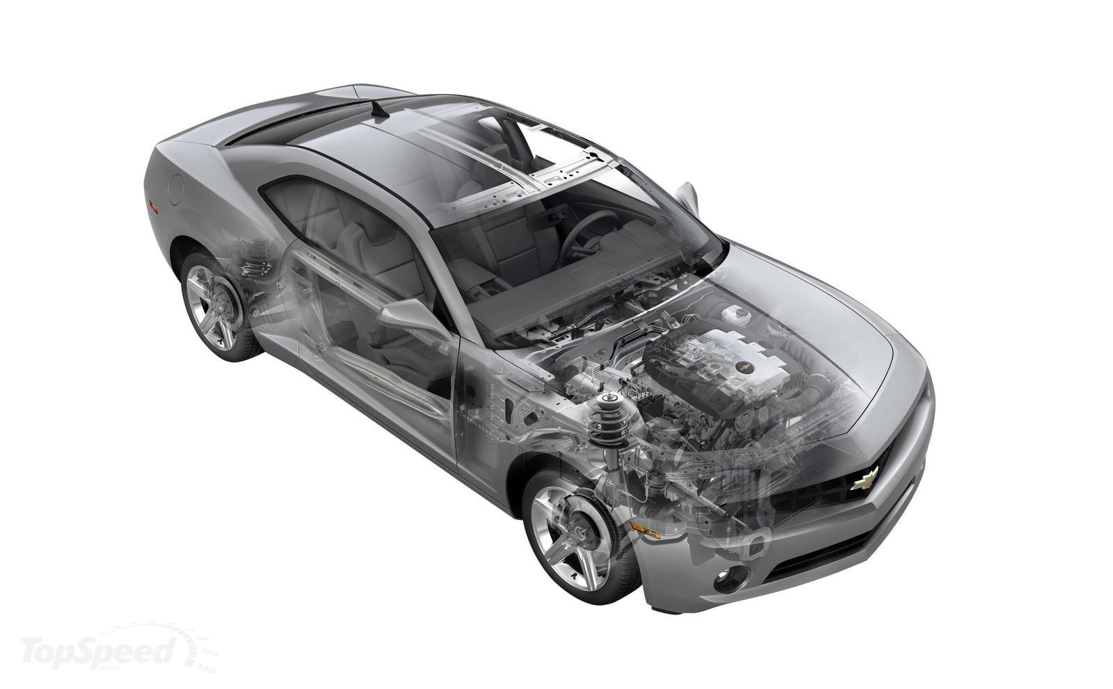 2010 Chevrolet Camaro Body Structure UHSS – Boron Extrication