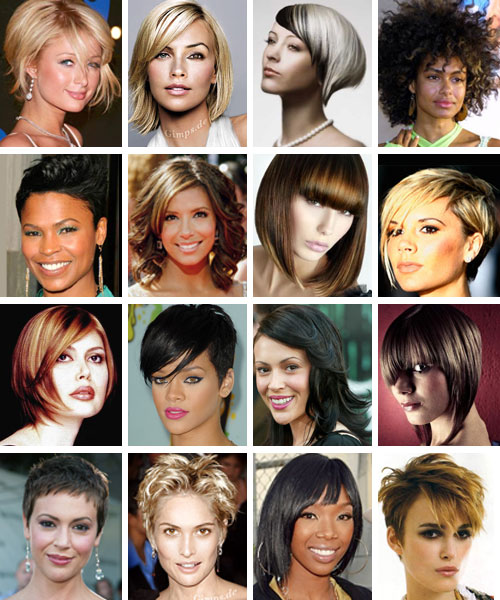There are several funky short hairstyles that are being adopted at large by