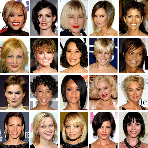 Short hairstyles. When it comes to short, bob is in again.