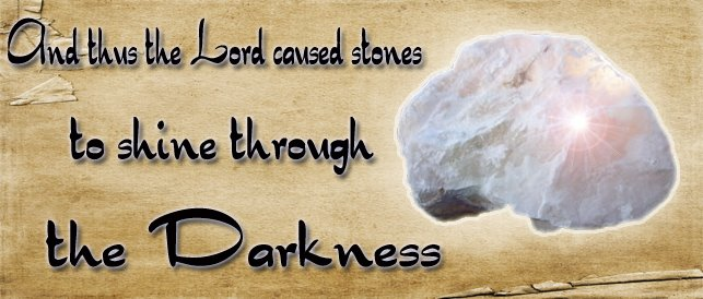 Stone Shining in the Darkness
