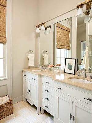 Coastal living bathrooms