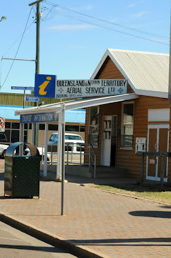 Queensland and Northern Territory Aerial Service, (QANTAS), booking office