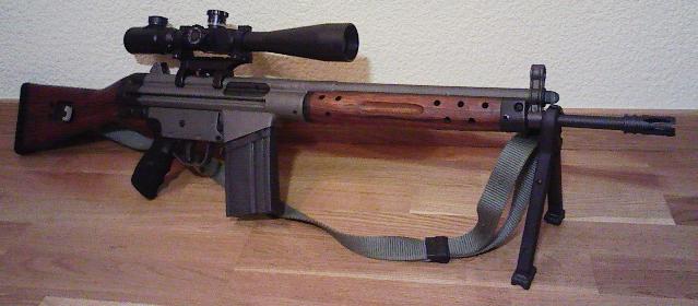 Fusil de asalto Cetme serie C. Breve introducción a su historia y características  CETME+C