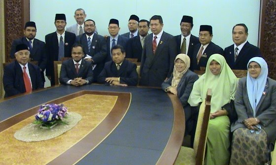 MP PAS bersama Speaker Dewan Rakyat