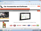 Car Accessories and Software Shop