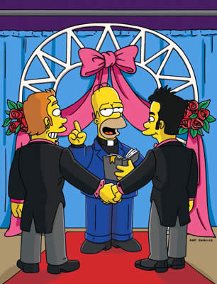 simpsons gay marriage teen hardcore thumbs clips 201109