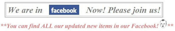 CLICK ON THIS AD TO BRING YOU TO OUR FACEBOOK PAGE! :o)))