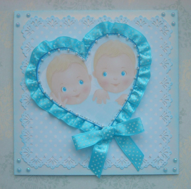 Поздравить папу с рождением двойняшек