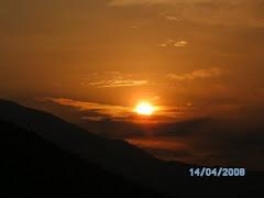 Ηλιοβασίλεμα στα Βραγκιανα