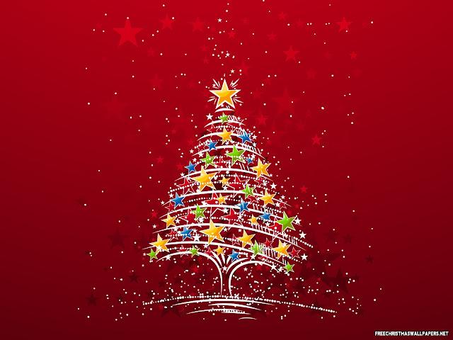 2014 ευχες για ολους μας  ..... Christmas-tree-with-stars-916992